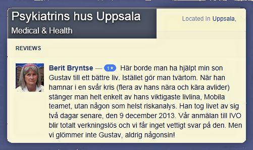 Facebook datum tantra i Uppsala